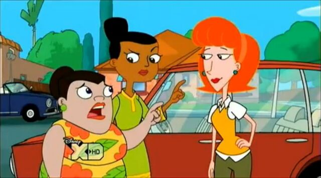 File:Linda with Buford and Baljeet's moms.jpg
