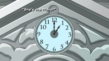 She's the Mayor title card