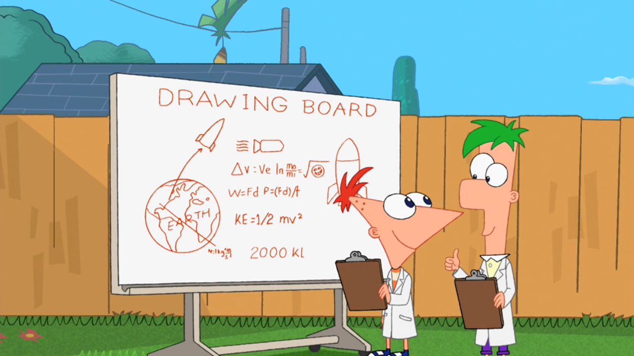 let u0027s take a rocketship to space phineas and ferb wiki fandom