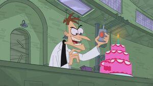 Doof's cake trap