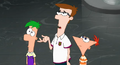 Ferb, Lawarance and Phineas (Tri-state treasure boot of secrets)