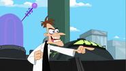 Doof mocking Perry