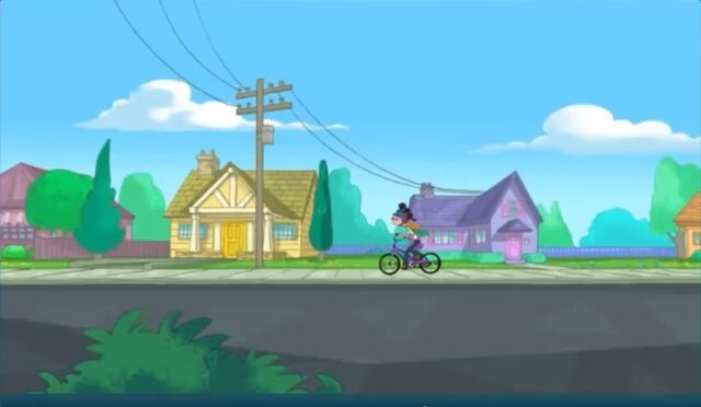 File:Candace riding her bike home.jpg