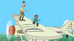 S4E18 Doof Trains Perry to Ride a Bike