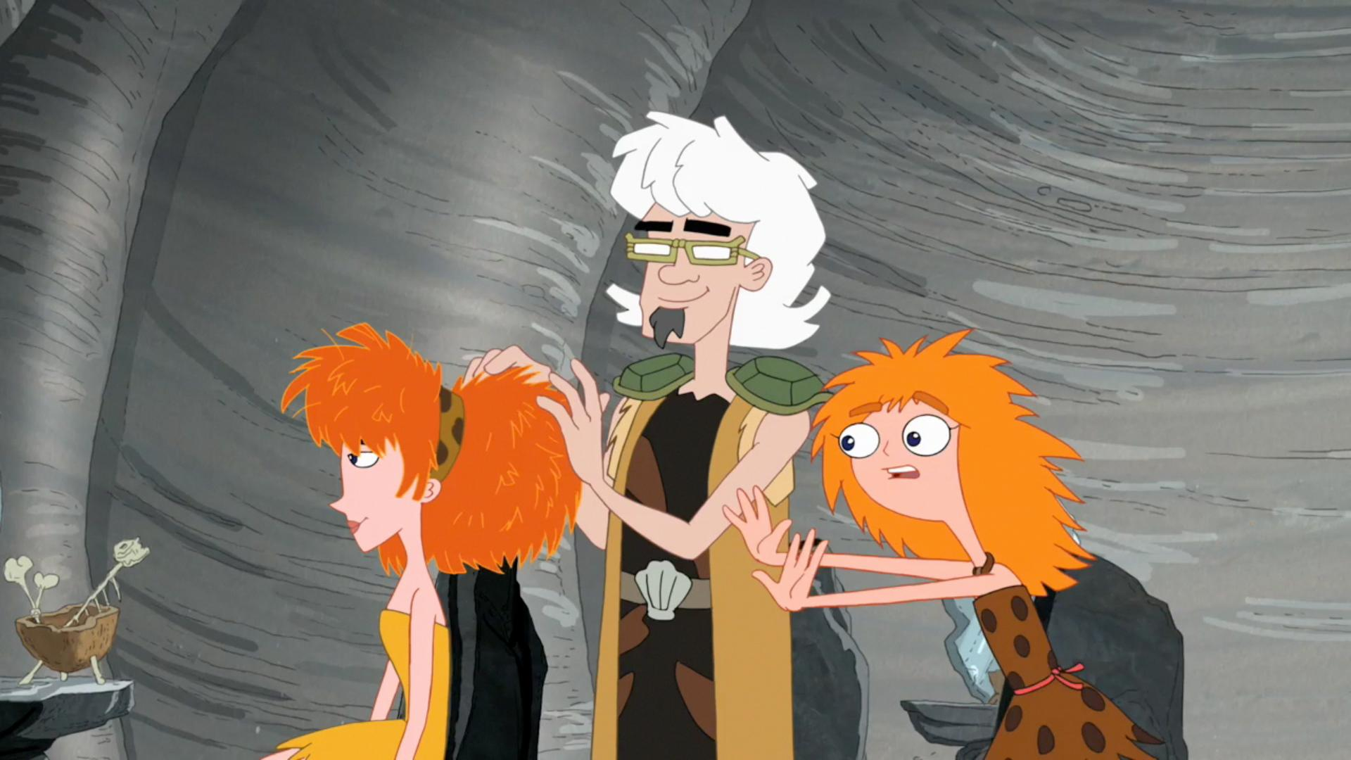 Prehistoric Bobbi Fabulous Phineas And Ferb Wiki