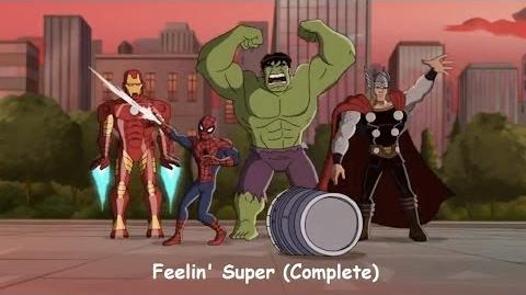 Phineas and Ferb Mission Marvel - Feelin' Super Full Song Sing-along Lyrics