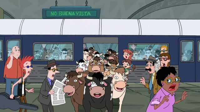 File:Cows coming out in the subway train.jpg