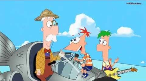 Phineas and Ferb - The Flying Fishmonger (Song)