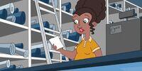 Carl's Saleswoman Disguise