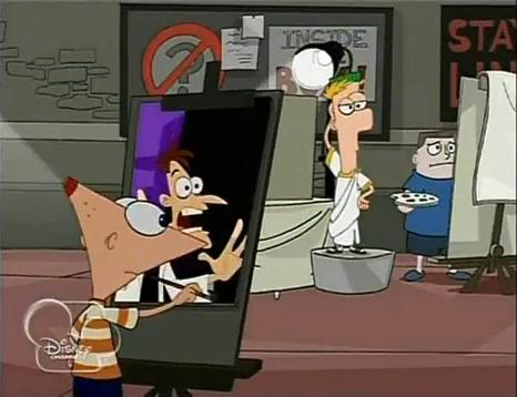 File:Phineas mistakes Ferb for Doofenshmirtz.JPG