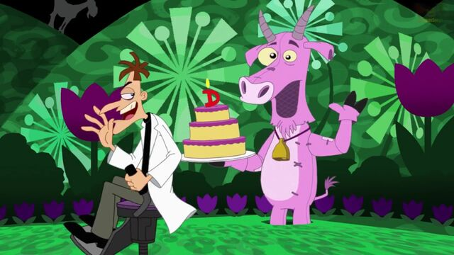 File:Doofenshmirtz happy after hi-fiving a goat.jpg