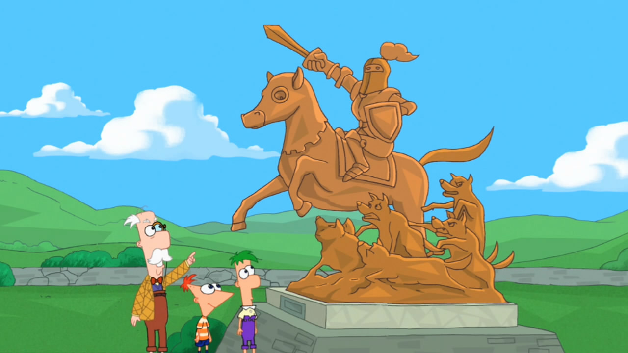 a hard day u0027s knight phineas and ferb wiki fandom powered by wikia