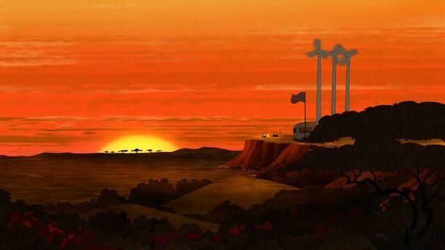 File:African sunset.jpg