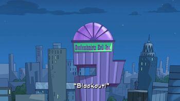 Blackout! title card