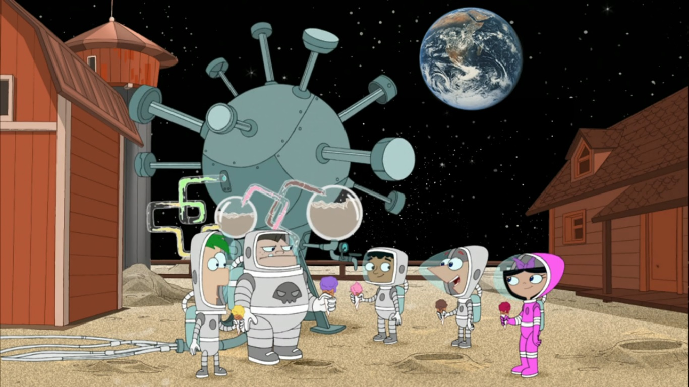 Moon Farm Phineas And Ferb Wiki Wikia