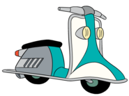 Agent P's Scooter