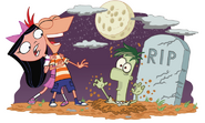 Halloween Zombie Ferb