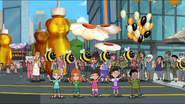 At Bee Day parade 3