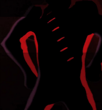 Mystery figure