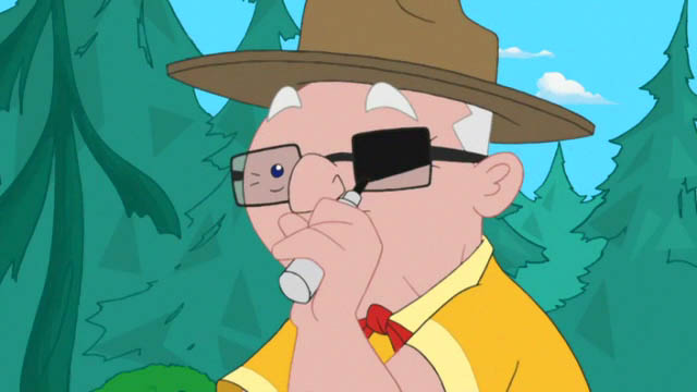 File:Grandpa Clyde colors his glasses with a marker.jpg