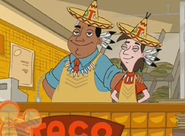 Fry guy at Taco tipi