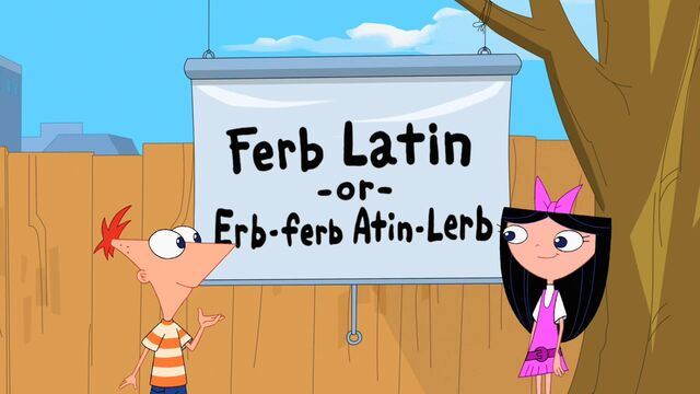 File:Phineas explains Isabella about Ferb Latin.jpg