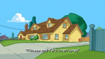 Phineas and Ferb Interrupted title card