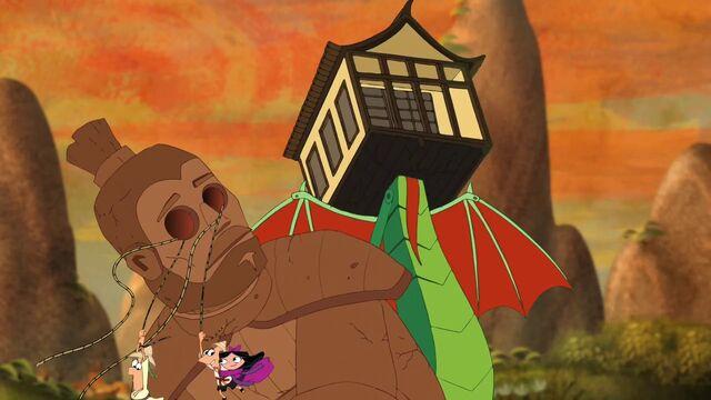 File:Phineas and Princess Isabella swings away.jpg