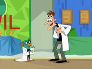 Doofenshmirtz meets Lloyd Wexler