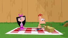 Phineas and Isabella on their picnic.jpg