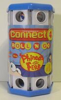 Connect 4 Roll 'N Go