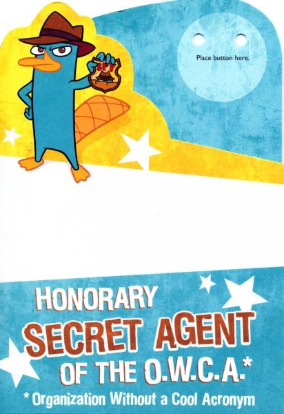 Image Hallmark Honorary OWCA agent birthday cardjpg – Phineas and Ferb Birthday Card