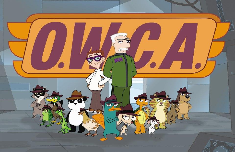 OWCA Agents 2 Phineas And Ferb Agent Panda