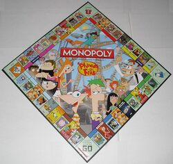 Monopoly P&F Collector's Edition board