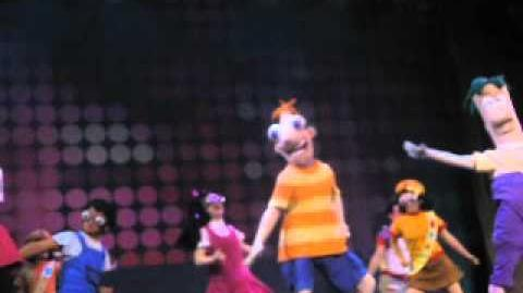 Phineas And Ferb Live Scene