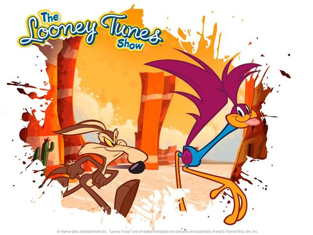 File:Road Runner & Wile E. Coyote The Looney Tunes Show.jpg
