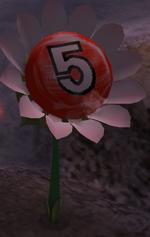 5 pellet posy