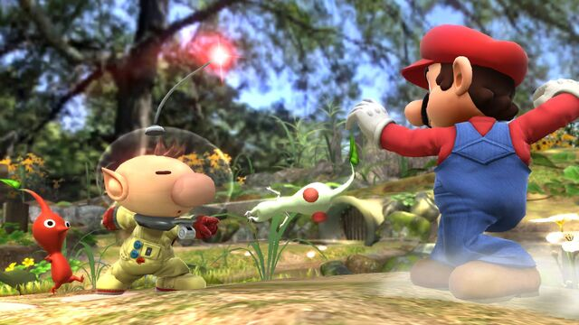File:Olimar and Pikmin Smash pic 4.jpg
