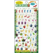 Pikmin calander stickers