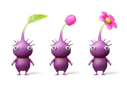 HD purple pikmin