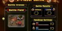 2-Player Battle (Pikmin 2)