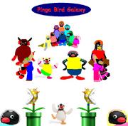 Pinga Bird Galaxy