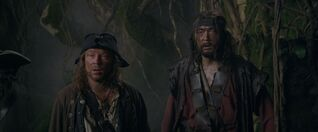 Scrum and Garheng joining Barbossa.