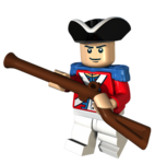 Lego KingGeorgesSoldier