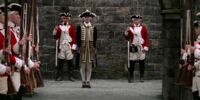 James Norrington's promotion ceremony
