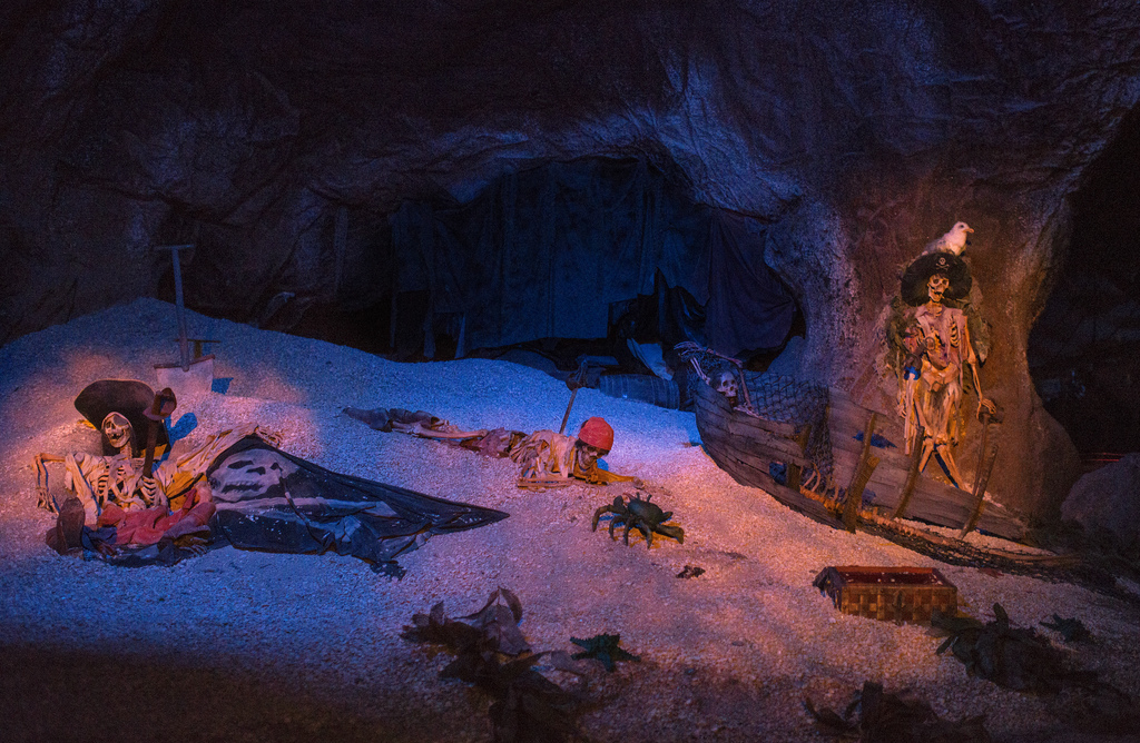 Image result for pirates of the caribbean cave