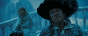 Barbossa in the freezing sea