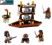 Legopirates captains cabin