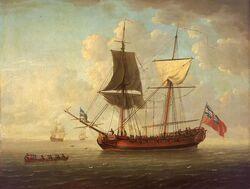 Naval brigantine