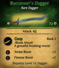 Buccaneer's Dagger